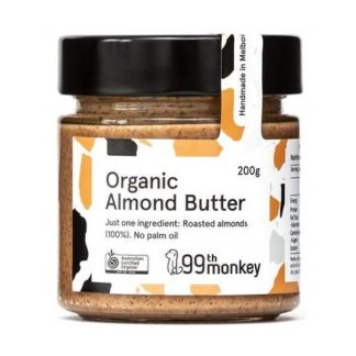 99th Monkey – Organic Almond Butter