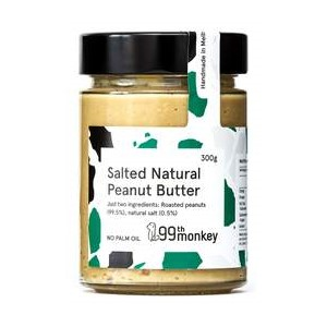 99th Monkey – Salted Natural Peanut Butter