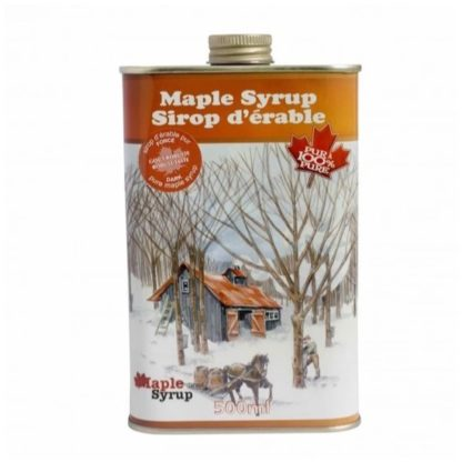 Escuminac - Great Harvest Organic Maple Syrup Square Tin 500ml