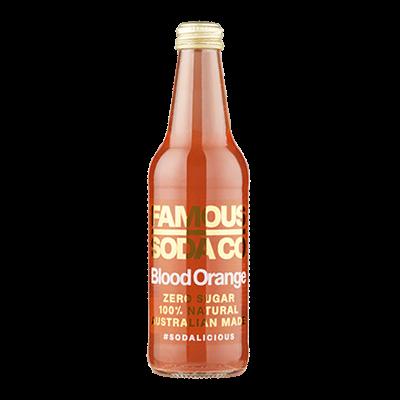 Famous Soda – Blood Orange