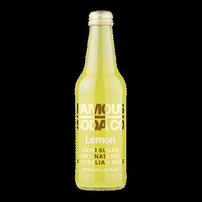Famous Soda – Lemon Soft Drink