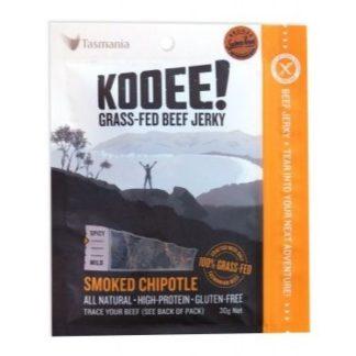 Kooee Beef Jerky - Smoked Chipotle 30g
