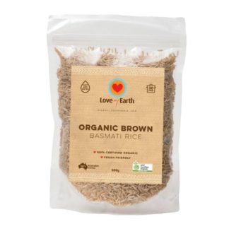 Love My Earth - Organic Brown Basmati Rice 500g