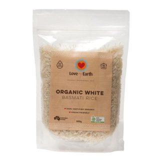 Love My Earth - Organic White Basmati Rice 500g