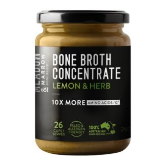Meadow & Marrow - Bone Broth Concentrate Lemon and Herb 260g