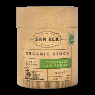 San Elk Low Fodmap Vegetable Stock
