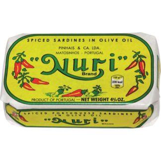 Nuri Spiced Sardines in Olive Oil