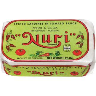 Nuri Spiced Sardines in tomato sauce