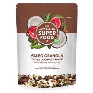 AustSuperFood - Cacao Coconut Granola