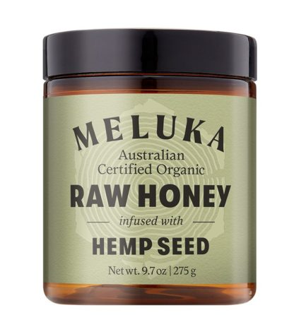Meluka Native Raw Honey Infused with Hemp Seed