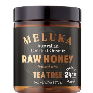 Meluka Native Raw Honey Infused Tea Tree TTF24