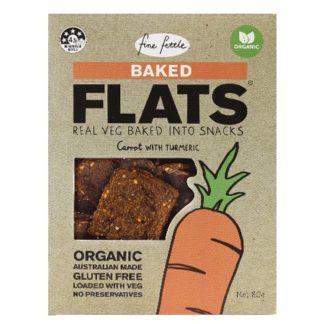 Fine Fettle Organic Baked Carrot Flats