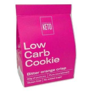 Essentially Keto - Bitter Orange Crisp Cookies