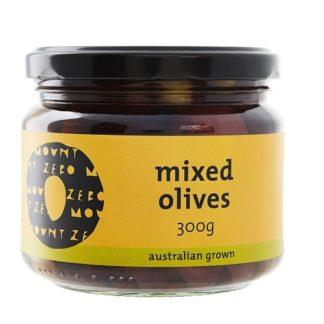 Mount Zero - Organic Mixed Olives