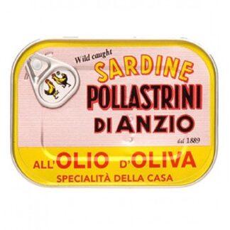 Pollastrini - Sardines in Olive Oil
