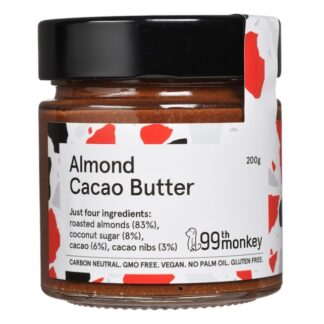 99th Monkey - Almond and Cacao Butter