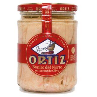 Ortiz - Bonito Tuna in Olive Oil Jar 220g