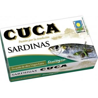 Cuca - Sardines in Organic EVOO
