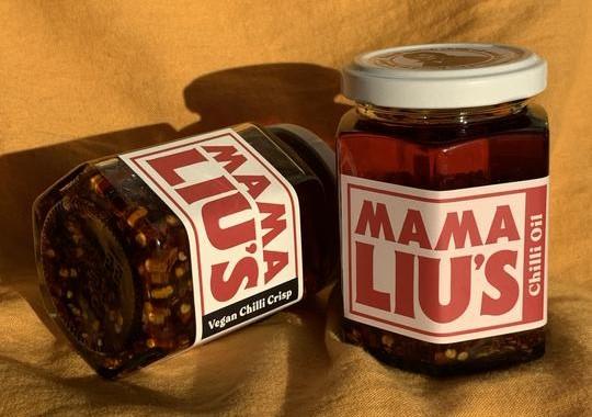 Mama Lius chilli oil banner